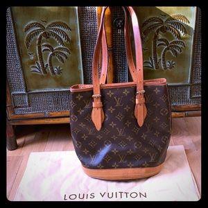Handbags - Louis Vuitton - Monogram Bucket PM AUTHENTIC